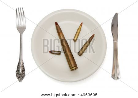Ammo On The Plate