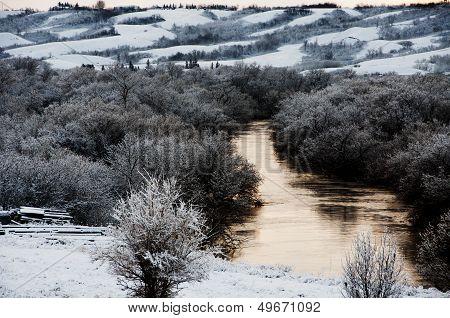 A River in Winter