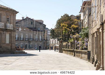Park In Pontevedra, Galicia
