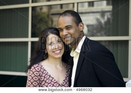 multi-cultural couple