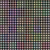 seamless texture of little checks with bright color dots poster