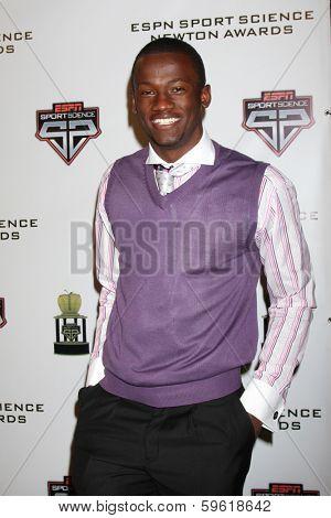 LOS ANGELES  - FEB 9:  TorranceGibson at the ESPN Sport Science Newton Awards at Sport Science Studio on February 9, 2014 in Burbank, CA