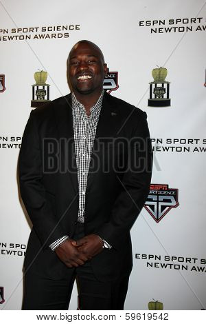LOS ANGELES  - FEB 9:  Marcellus Wiley at the ESPN Sport Science Newton Awards at Sport Science Studio on February 9, 2014 in Burbank, CA