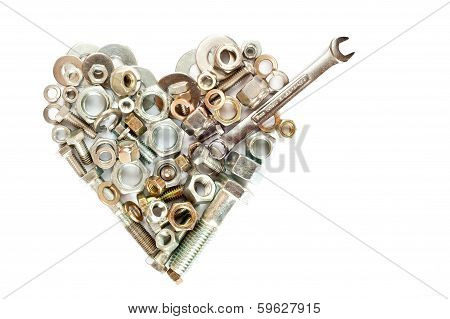 Nuts And Bolts Heart