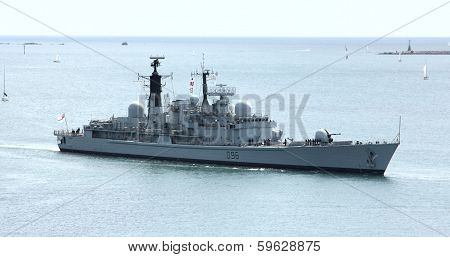 British Destroyer HMS Gloucester D96