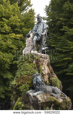 Monument Giuseppe Garibaldi , Venice, Italy.