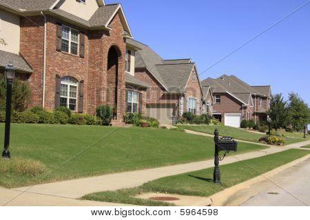 Upscale Neighborhood with Lovely Homes