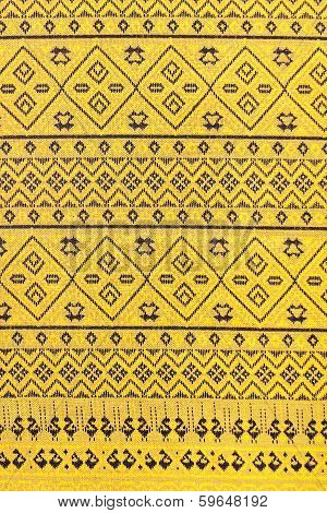 Traditional batik sarong pattern for a background poster