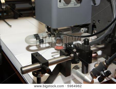 Paper At Offset Printed Machine