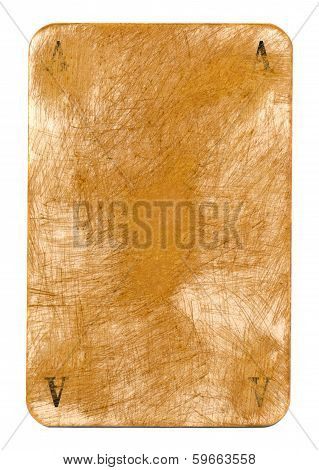 Old Dirty Grubby Playing Card Paper Background