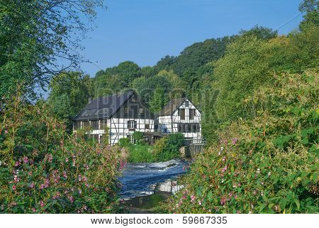 Wupper River,Bergisches Land,Solingen,Germany