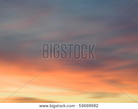 Cloudy Sky Dynamic Abstract Colorful and Vivid Background poster