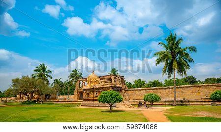View Of The Ancient Gangaikonda Cholapuram Temple Dedicated To Shiva, Thanjavur (trichy), Tamil Nadu