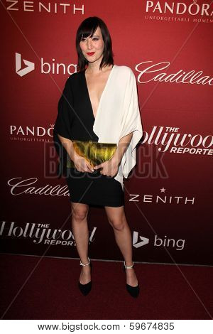 LOS ANGELES - FEB 10:  Karen O at the The Hollywood Reporter's Annual Nominees Night Party at Spago on February 10, 2014 in Beverly Hills, CA