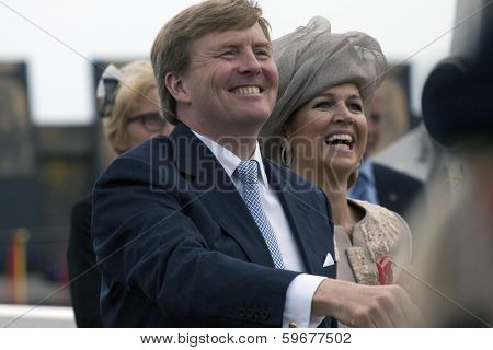 Willem alexander king of The Netherlands.