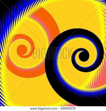 Pop Art Spirals