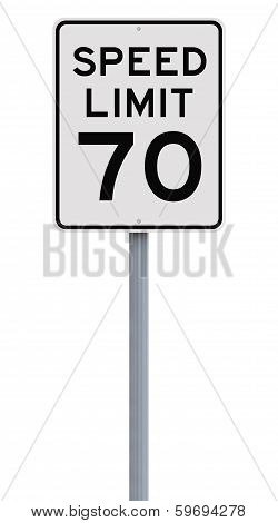 Speed Limit at Seventy