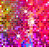 party background, colorful shiny disco background, illustration poster