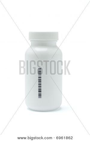 Kunststoff Medizin Flasche