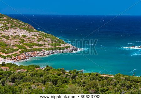 Bay Near Agia Pelagia