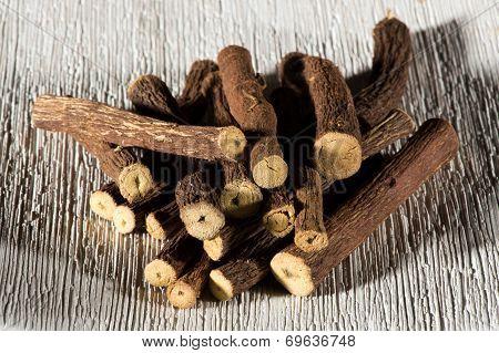 Dried Licorice Sticks