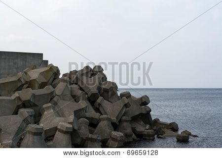 Shakotan coastal line