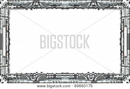 Picture Frame Technically In Silver