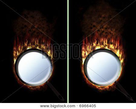 Pan Fire Button