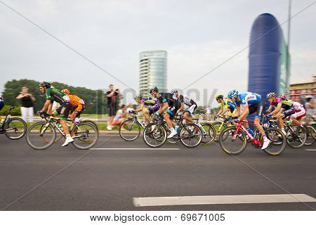 Rzeszow, Poland - August 05: Cycling Race Tour De Pologne, Stage 3 In Rzeszow. 71Th Tour De Pologne,