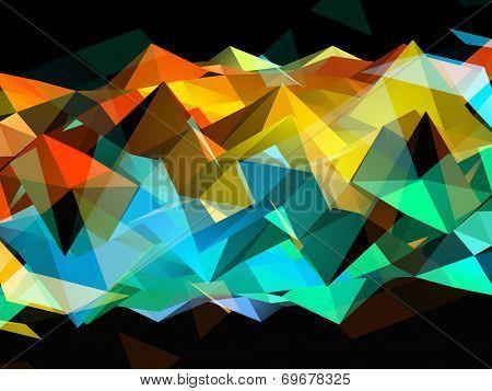 Rainbow Triangles