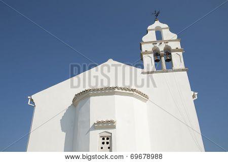 Orthodox church on Corfu