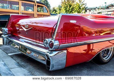 1957 Cadillac Rear View.