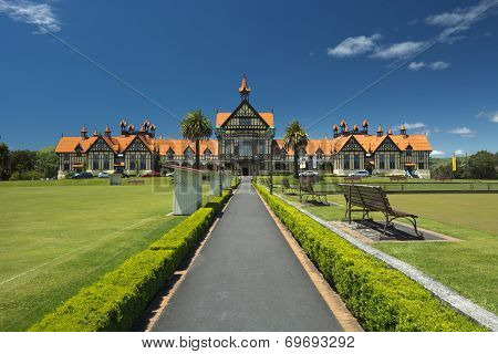 Government Gardens and Museum, Rotorua, New Zealand