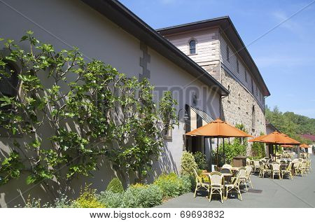Beringer Brothers Winery historic building in Napa Valley
