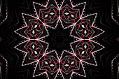 Abstract illustrated wonderful glass design background pattern poster