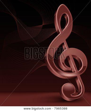 Brawn treble clef