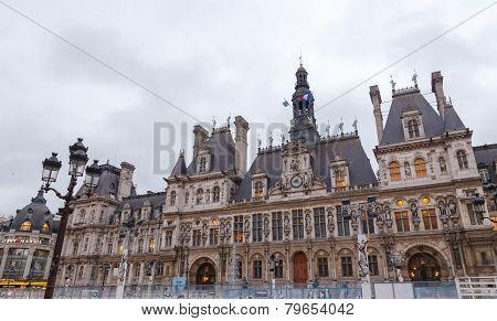 Paris. Hotel-de-ville (city Hall).