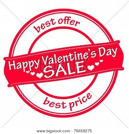 Happy Valentine Day Sale