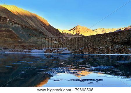 Mountain River Zanskar, Himalayas, North India