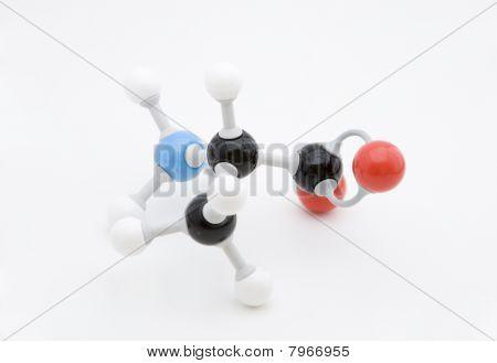 Alanine Amino Acid Molecule