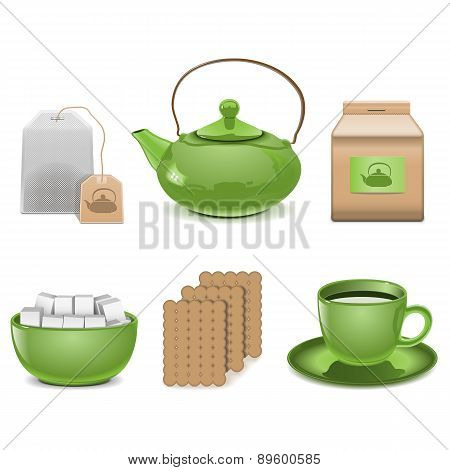 Vector Tea Icons