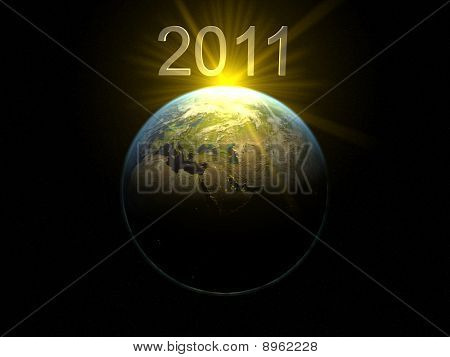 2011 Over Earth