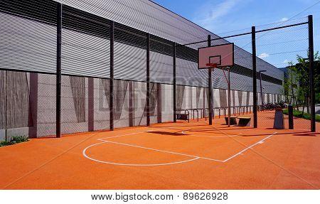 Basketball Court Sport Outdoor Public