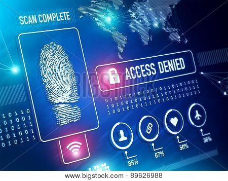 Security Technology Biometrics Scan