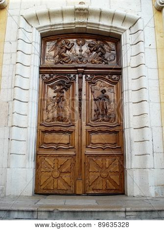 cathedral door