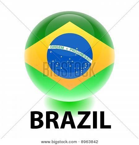 Orb Brazil Flag