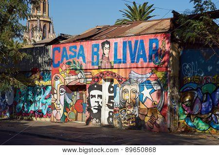 Murals of Santiago