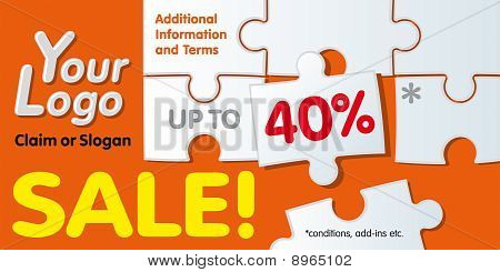 Discount Coupon Template. Replace Text With Yours. Vector Illustration.