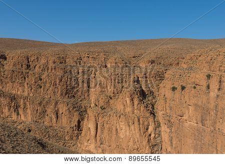 The Cliff Of Gorges Du Dades Valley, Morocco