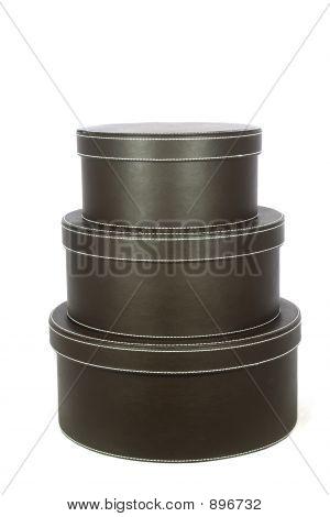 Three Hat Boxes